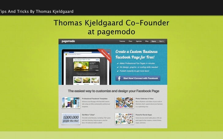 Tips And Tricks By Thomas Kjeldgaard                          Thomas Kjeldgaard Co-Founder                                ...