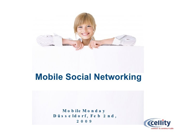 Mobile Monday Düsseldorf February 2009 - Mobile Social Networking