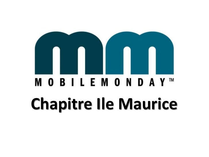 Mobile Monday Chapitre Ile Maurice