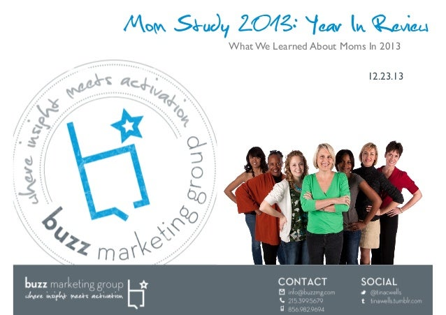 Mom Study 2013: Year in Review