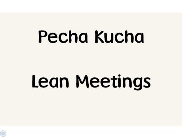 Markus Wittwer: Lean meetings - 5 practical tipps to avoid waste and to achieve flow in meetings - LKCE13