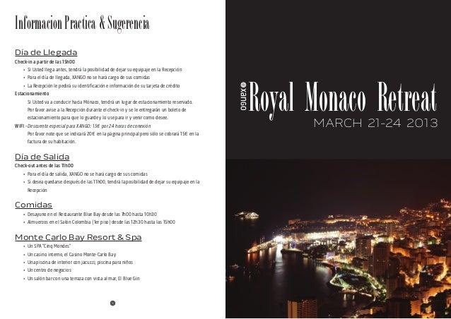 Monaco agenda sp