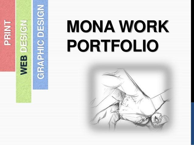MONA WORK PORTFOLIO WEBDESIGN PRINT GRAPHICDESIGN
