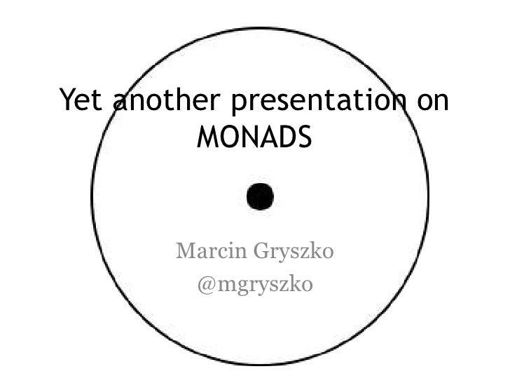 Groovy Monads