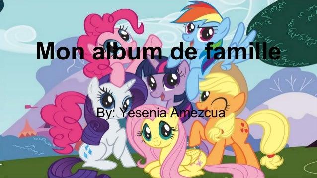 Mon album de famille By: Yesenia Amezcua