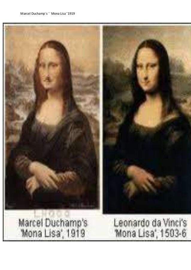 marcel duchamp mona lisa essay View marcel duchamp a brief though poetic essay on duchamp by the french inscribed on a reproduction of leonardo da vinci's mona lisa 45 years.