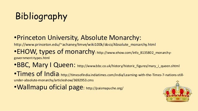 positive and negative factors of absolute monarchy
