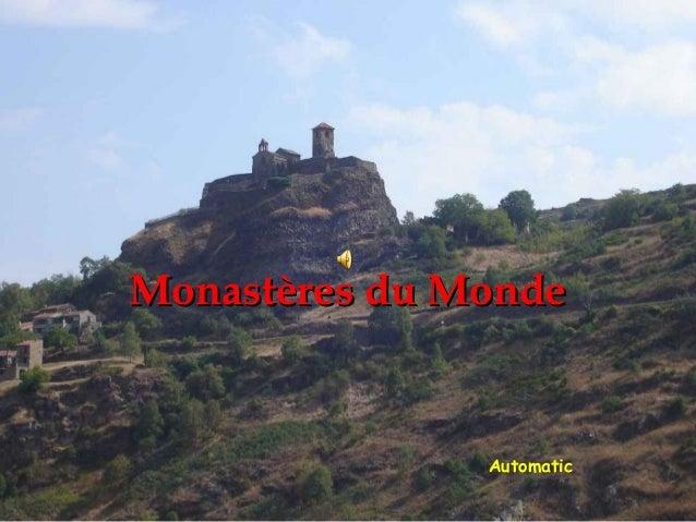 Monastères du Monde               Automatic
