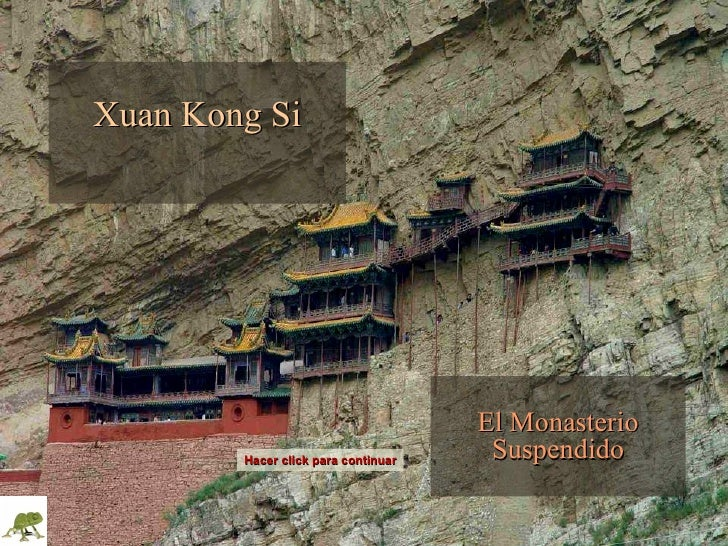 Monasterio Suspendido en China