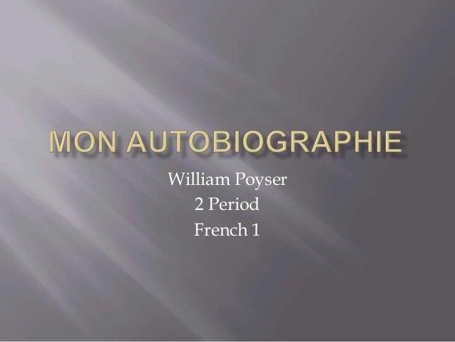 William Poyser2 PeriodFrench 1