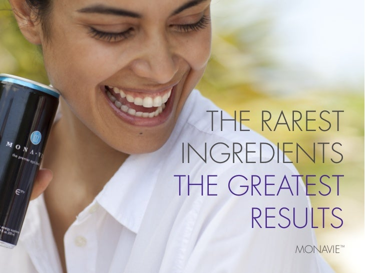 Monavie Health care product brochure for Indians