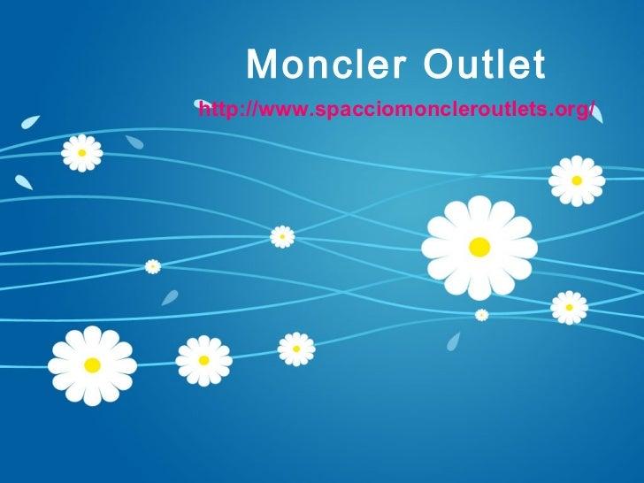 Moncler outlet