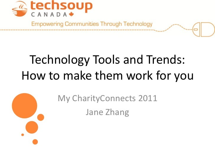 Jane Zhang - Technology Tools and Trends: How to Make Them Work For You