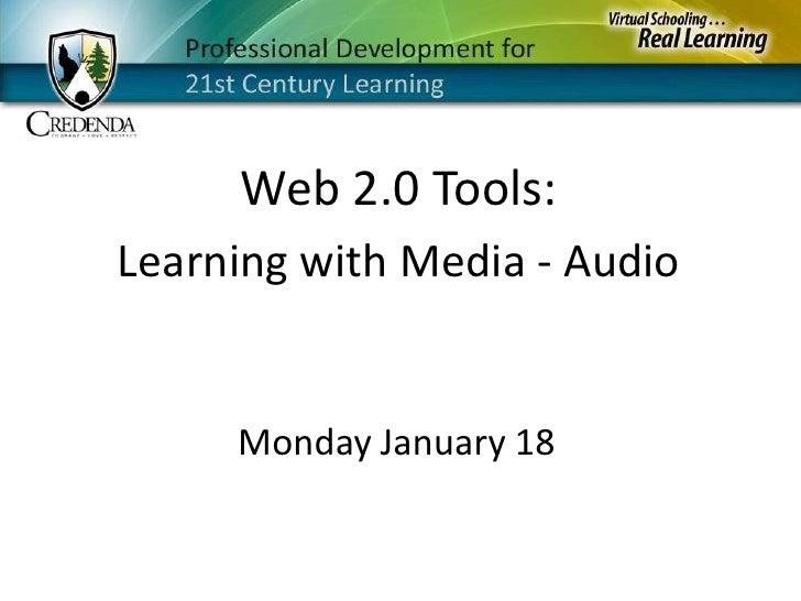 Monday January 18   Audio