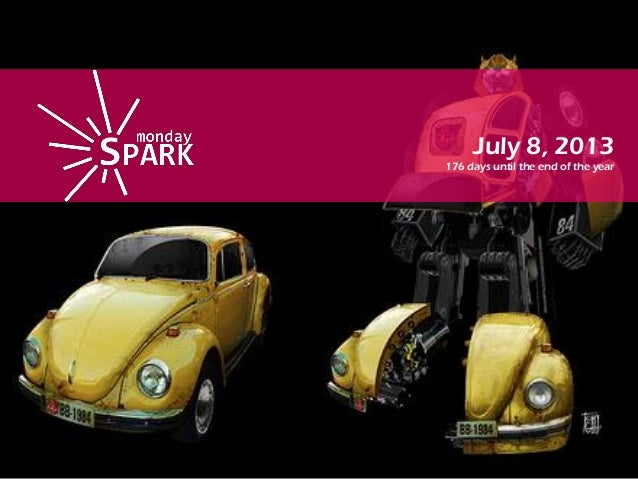 Monday spark july8th 2013
