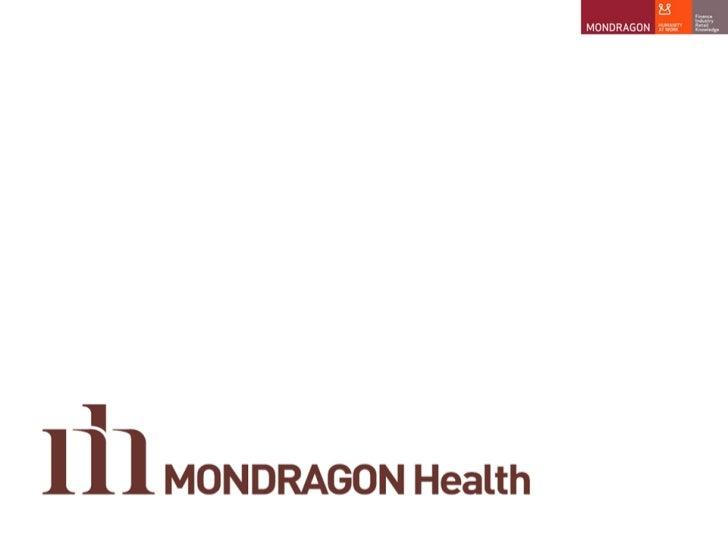MONDRAGON Health presentation