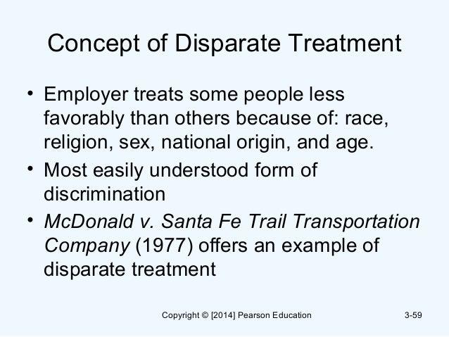 Disparate Impact Treatment Case Study College Paper Academic Service