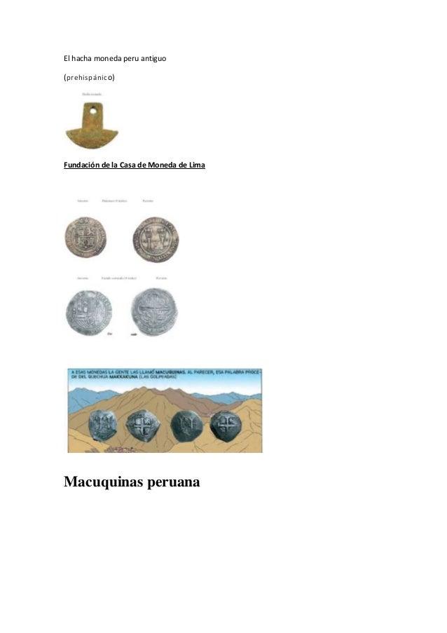 Moneda peru antiguo - Casa de la moneda empleo ...