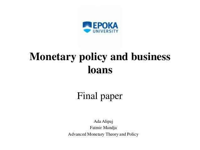 essay monetary policy These are the general objectives which every central bank of a nation tries to attain by employing certain tools (instruments) of a monetary policy in india, the rbi.
