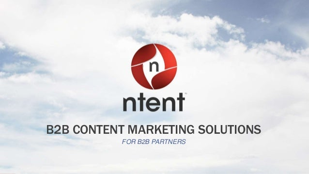 Monetize with NTENT B2B Publishers
