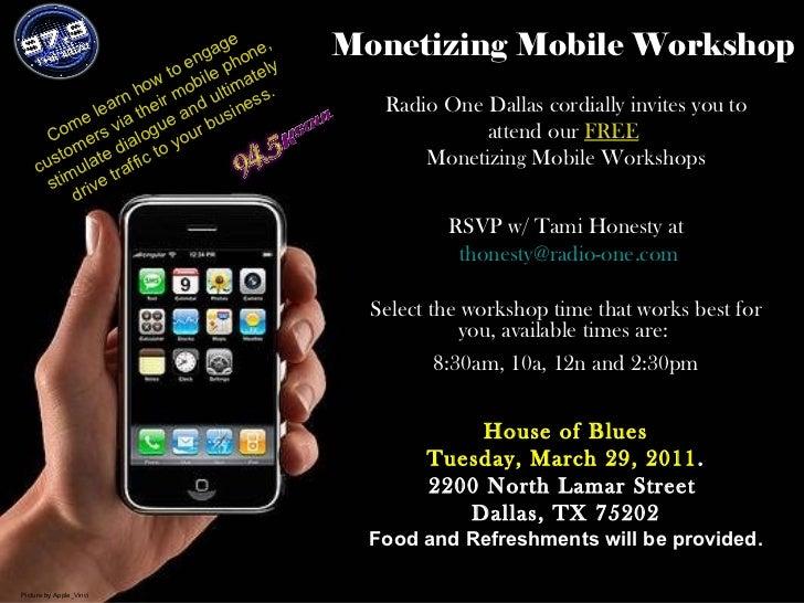 Free Dallas Mobile Marketing Workshop