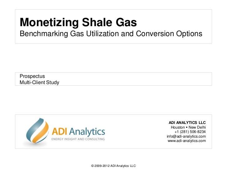 Monetizing shale gas-prospectus-adi