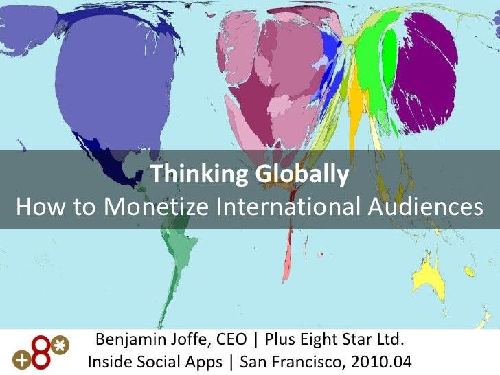Monetizing social games globally