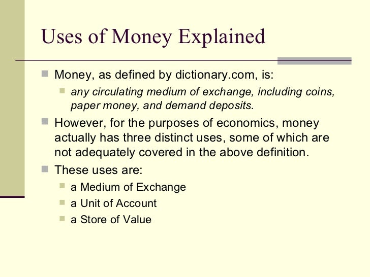 essay on money usage This money is returned to you in a form of a bonus which you can use to cover the expenses on all the papers you get at get-essaycom are meant for research.