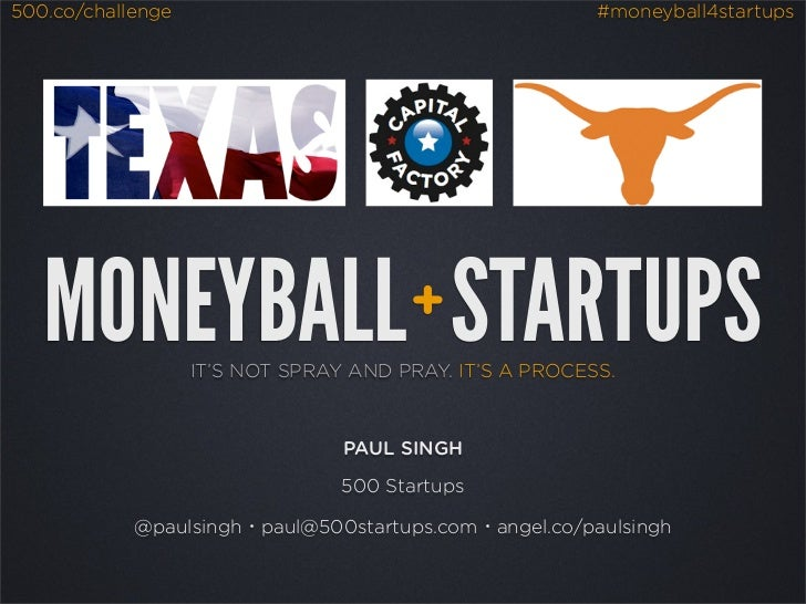 Moneyball: A Quantitative Approach to Angel Investing (Austin, TX - Aug 2012)