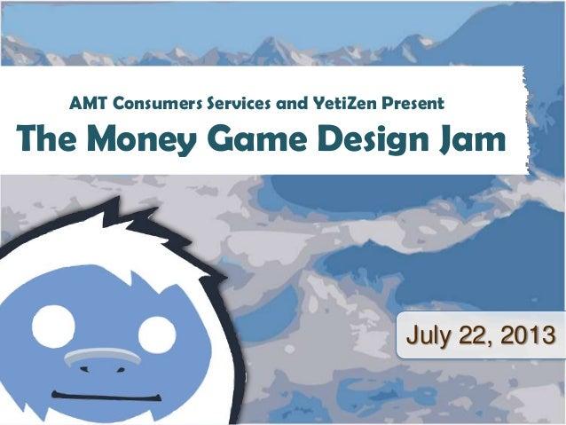 Money Game Design Jam