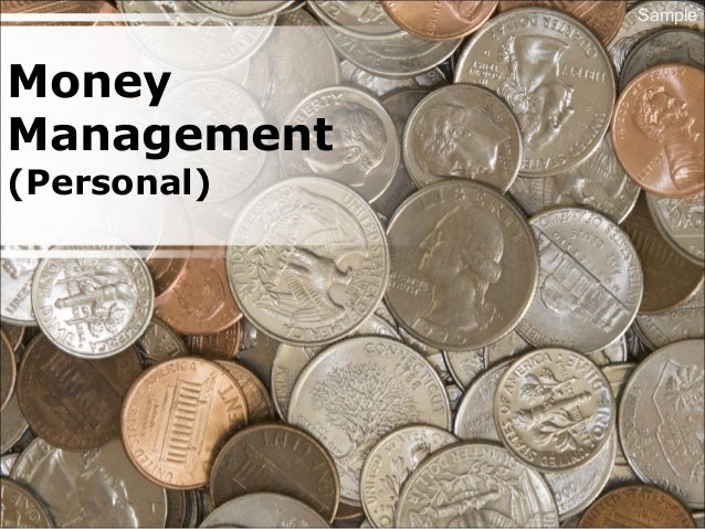 Money Management (Personal) Sample