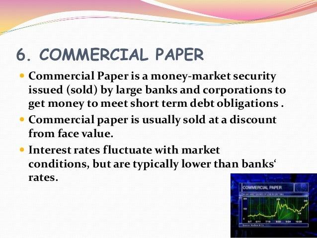short term commercial paper rates
