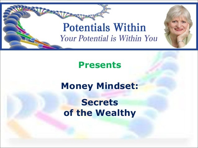 Money mindset presentation 2014 Increase your ability to make money
