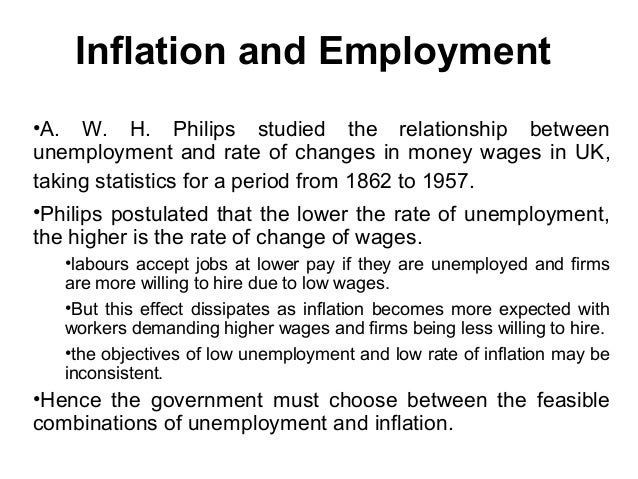 relationship between inflation interest and output The interest coverage ratio is a debt ratio and the relationship between inflation and economic output this positive relationship starts to break down.