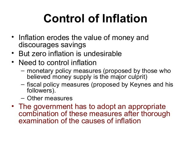 measures to control inflation pdf