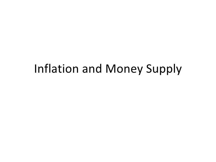 Money supply and int rate 0810