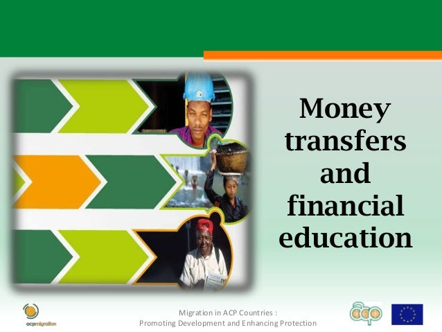 Money transfers and financial education 2