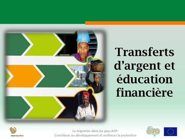 Money transfers and financial education 3 FR