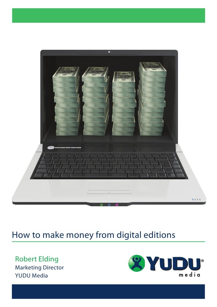 How to Make Money from Digital Editions