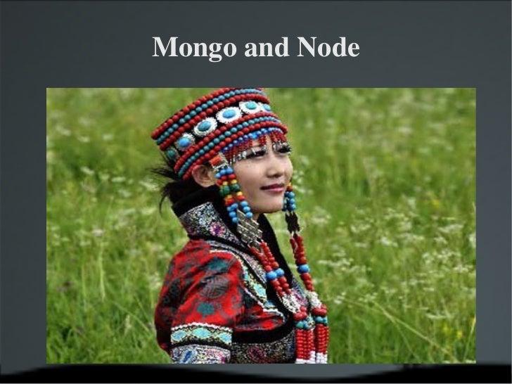 Mongo and Node