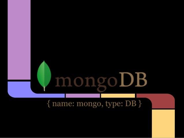 Sobre MongoDB...tenho umsite bacana WWW.GOOGLE.COM.BR