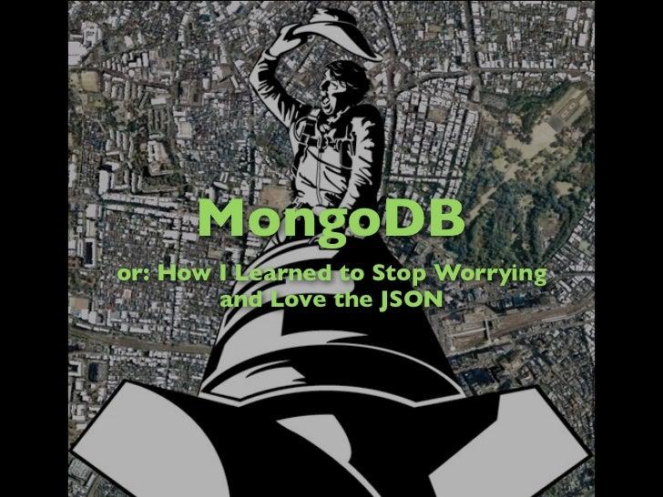 MongoDB at GUL