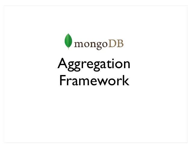 AggregationFramework