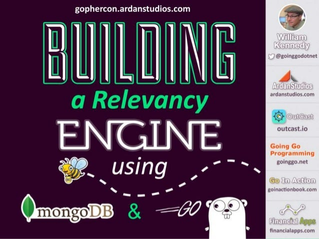 Building A Relevancy Engine Using MongoDB and Go