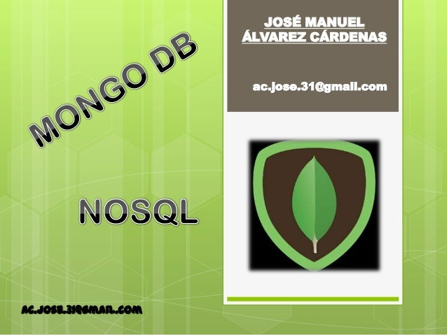 MONGODB - NOSQL