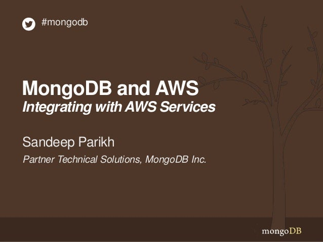 MongoDB and AWS: Integrations
