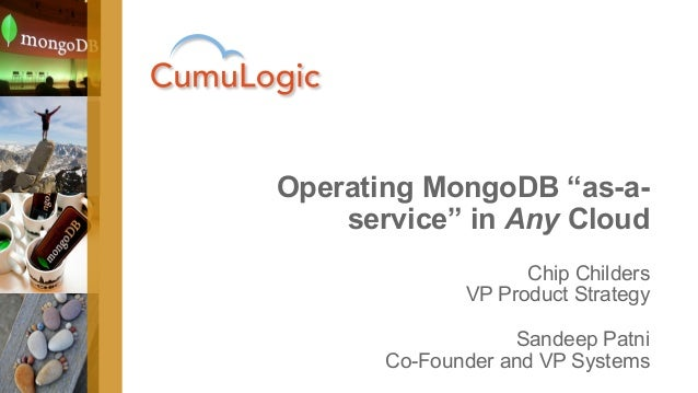 Operating MongoDB 'as a service' inside the firewall