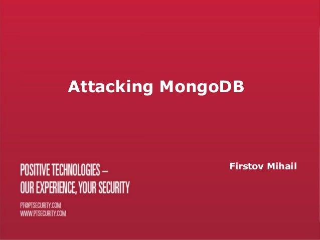 Mongo db eng