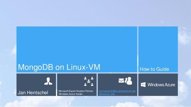MongoDB on Linux VM in Windows Azure