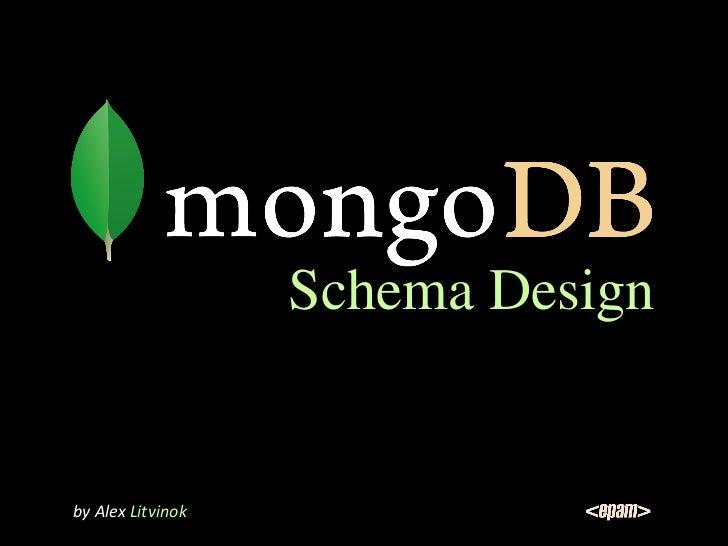 MongoDB Schema Design